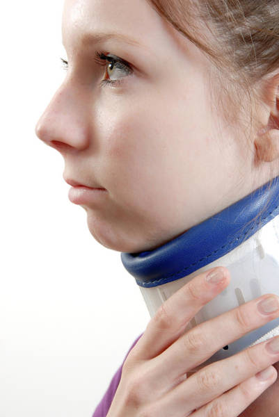 Neck Brace Photograph - Neck Brace by Aj Photo