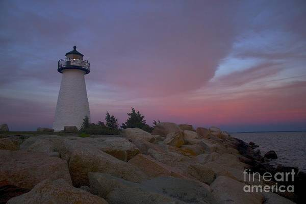 Ned's Point At Sunset Art Print