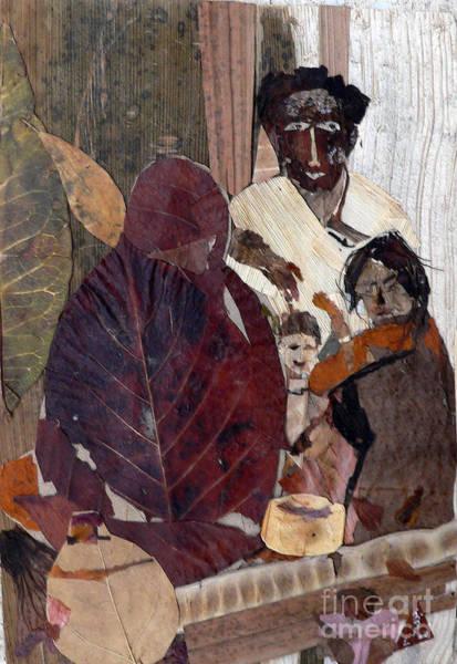 Eco Friendly Mixed Media - Needy Family by Basant Soni