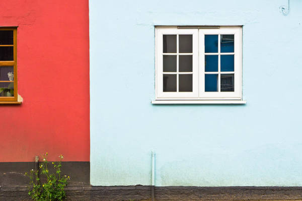Window Photograph - Neighbors by Tom Gowanlock