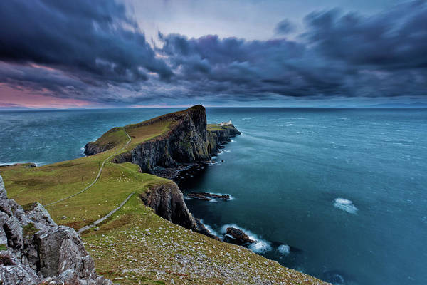 Wall Art - Photograph - Neist Point, Isle Of Skye, Scotland by Eddie Esdale