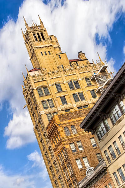 Photograph - Neo-gothic Jackson Building In The Heart Of Asheville by Mark Tisdale