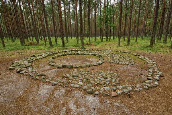 Prehistoric Era Wall Art - Photograph - Neolithic Stone Circles Created By by Witold Skrypczak
