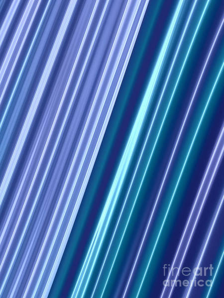 Neon Lights Digital Art - Neon Lines by John Edwards