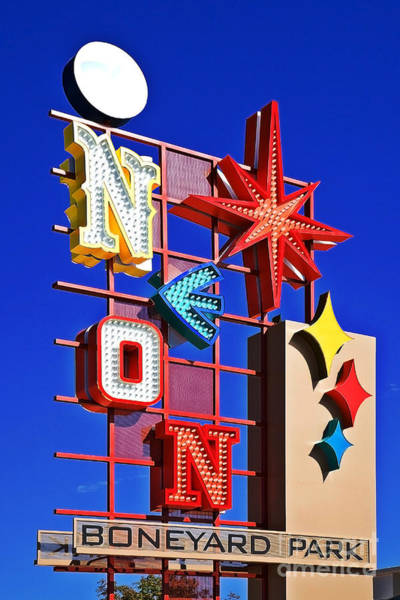 Vegas Neon Boneyard Art Print