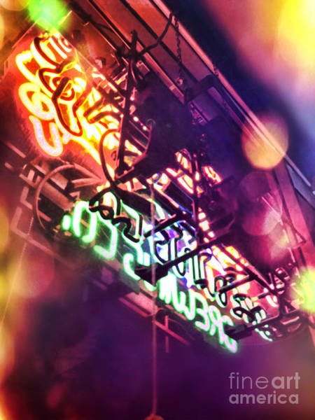 Neon Photograph - Neon by HD Connelly
