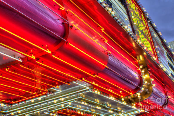 Neon Pink Photograph - Neonism by Rob Hawkins