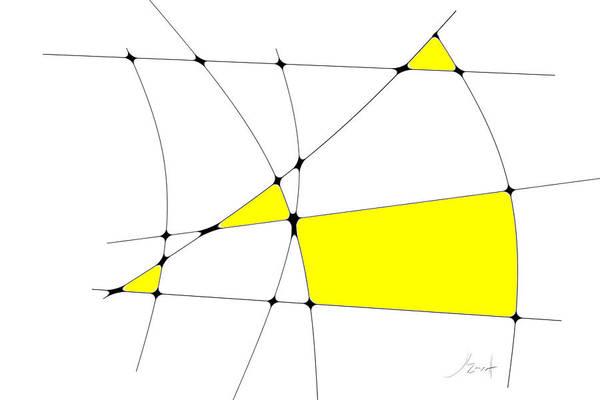Digital Art - neoplasticism 10 II by John WR Emmett