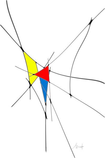 Digital Art - neoplasticism 11 II by John WR Emmett
