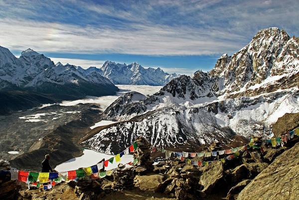 Gokyo Photograph - Nepal, Gokyo Ri The View by David Noyes