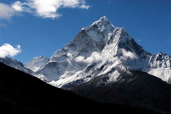 Khumbu Wall Art - Photograph - Nepal The Spectacular Peak Of Ama by David Noyes