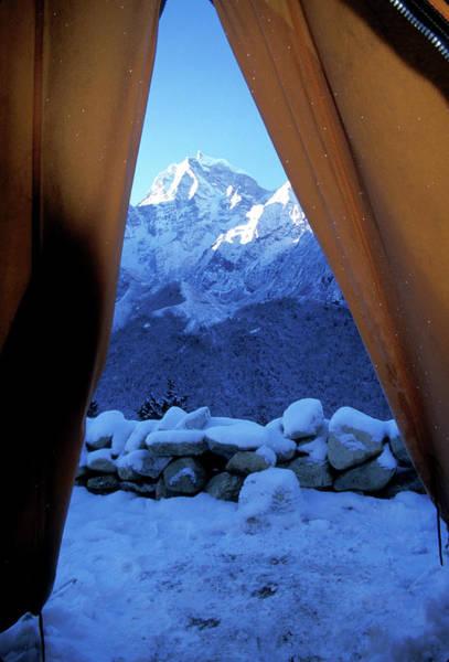 Himalaya Wall Art - Photograph - Nepal Trek by Scott Warren