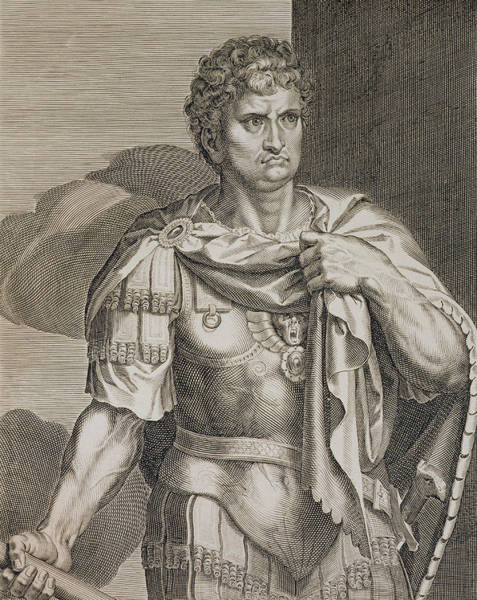 Renaissance Drawing - Nero Claudius Caesar Emperor Of Rome by Titian