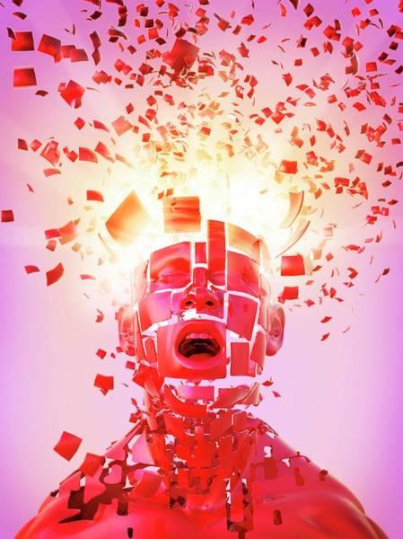 Psychiatry Photograph - Nervous Breakdown by Tim Vernon