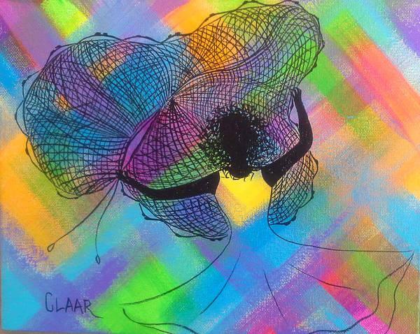 Gullah People Wall Art - Painting - Net Swirl by Samantha Claar