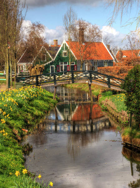 Noord Holland Wall Art - Photograph - Netherlands, Zaandam, Traditional by Terry Eggers