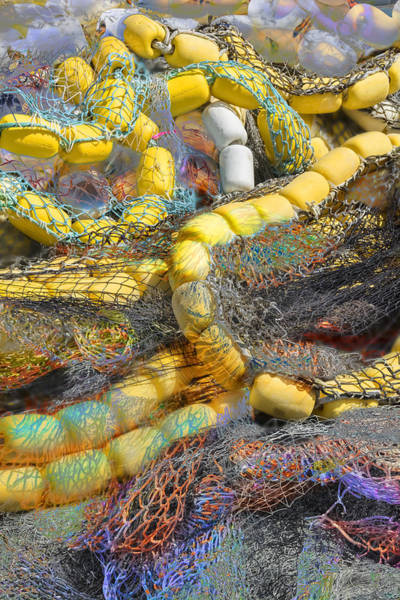 Photograph - Nets And Floats by David Phoenix