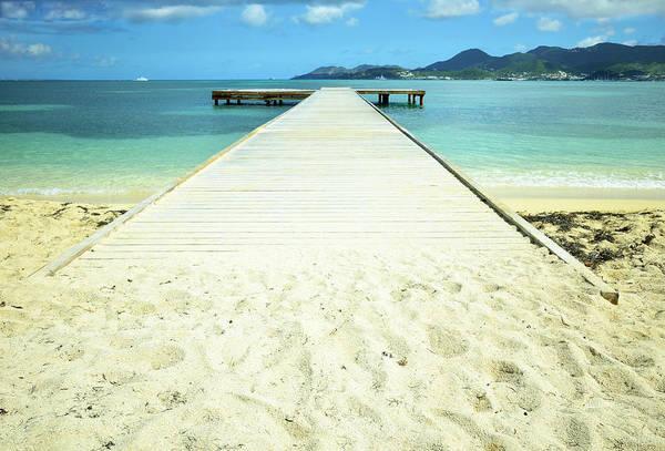 St. Maarten Photograph - Nettle Bay Dock by Luke Moore