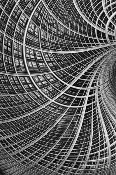 Web Digital Art - Network II by John Edwards