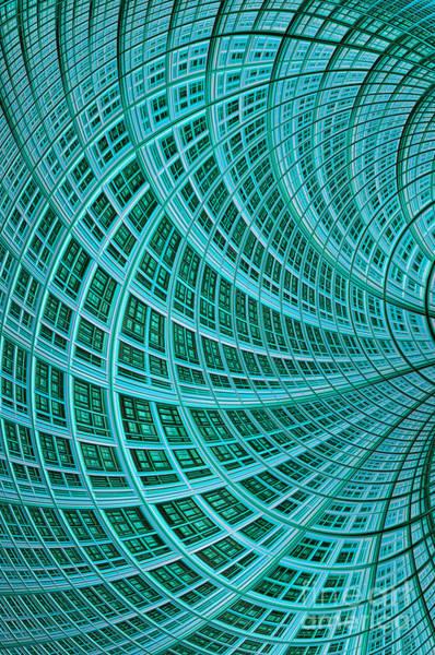 Web Digital Art - Network by John Edwards