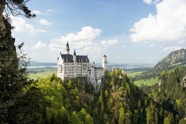 Photograph - Neuschwanstein Castle by Francesco Emanuele Carucci