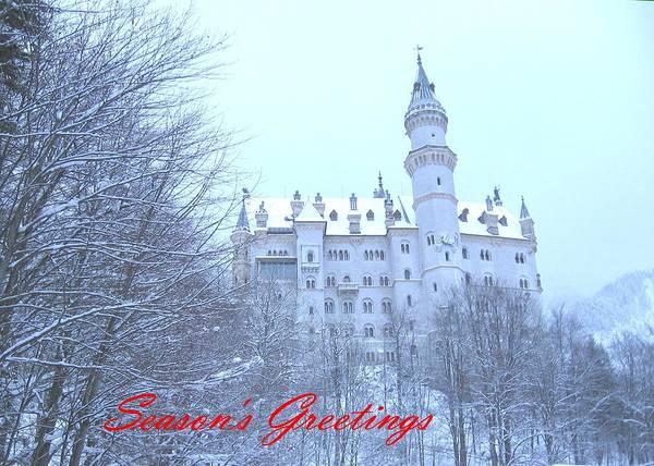 Photograph - Neuschwanstein Castle by Gordon Elwell