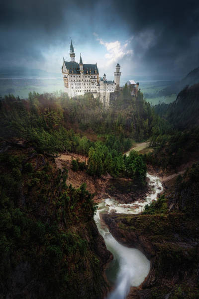 Landmark Wall Art - Photograph - Neuschwanstein. by Juan Pablo De