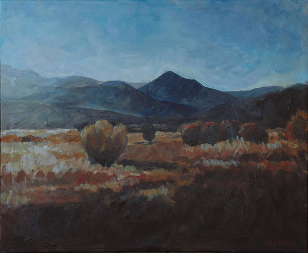 Painting - Nevada Afternoon by Susan Moore
