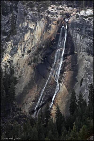 Photograph - Nevada Falls by Erika Fawcett