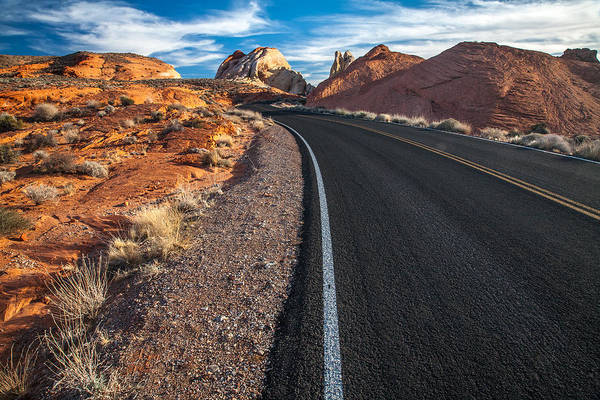 Photograph - Nevada Highways by Peter Tellone