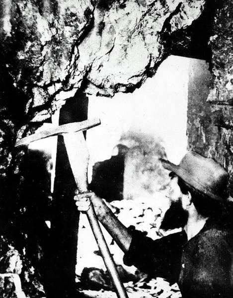 Photograph - Nevada Mining, 1867 by Granger