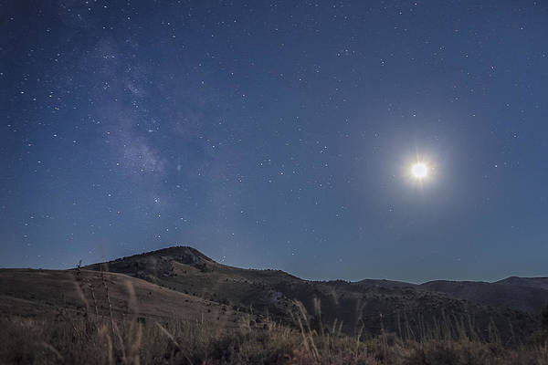 Photograph - Nevada Nights by Ryan Heffron