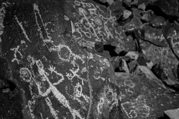 Photograph - Nevada Petroglyphs by Scott McGuire