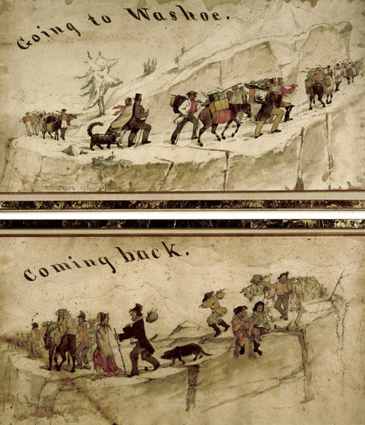 Wall Art - Painting - Nevada Washoe, C1860 by Granger