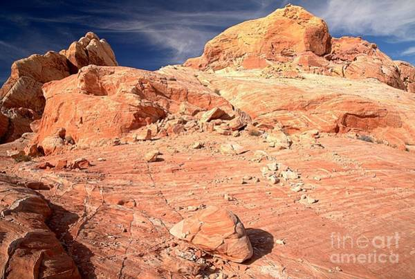Photograph - Nevada Colorful Rugged Landscape by Adam Jewell