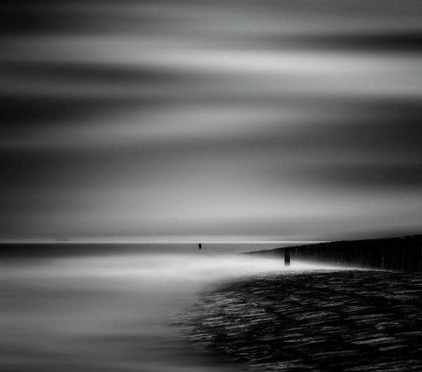 Shore Photograph - Never Ceasing Whisper Of The Sea by Yvette Depaepe