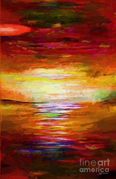 Wall Art - Painting - Never Ending Joy Of Light  by Heinz G Mielke