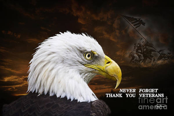 Wall Art - Photograph - Never Forget - Memorial Day by Cris Hayes