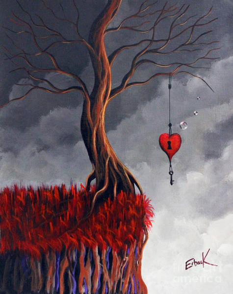 Wall Art - Painting - Never Letting Go by Erback Art