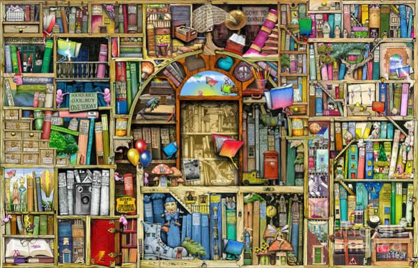No People Wall Art - Digital Art - Neverending Stories by MGL Meiklejohn Graphics Licensing