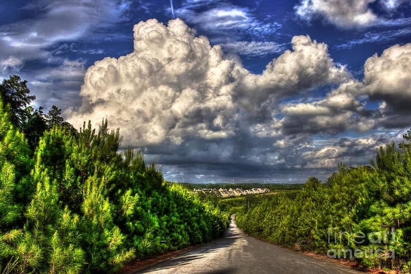 Subdivision Photograph - Atlanta And The Southside Neverland by Reid Callaway