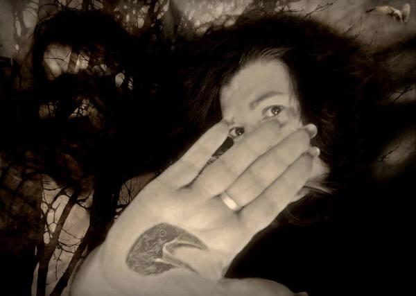 Photograph - Nevermore by Susan Maxwell Schmidt