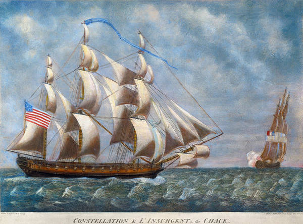 Wall Art - Painting - Nevis Constellation, 1799 by Granger