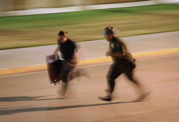 Arrival Photograph - New Agents Train At Us Border Patrol by John Moore