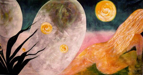 Primavera Painting - New Atlantis by Shakti Brien