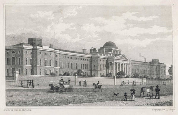 Bethlehem Drawing - New Bethlehem Hospital, St by Mary Evans Picture Library