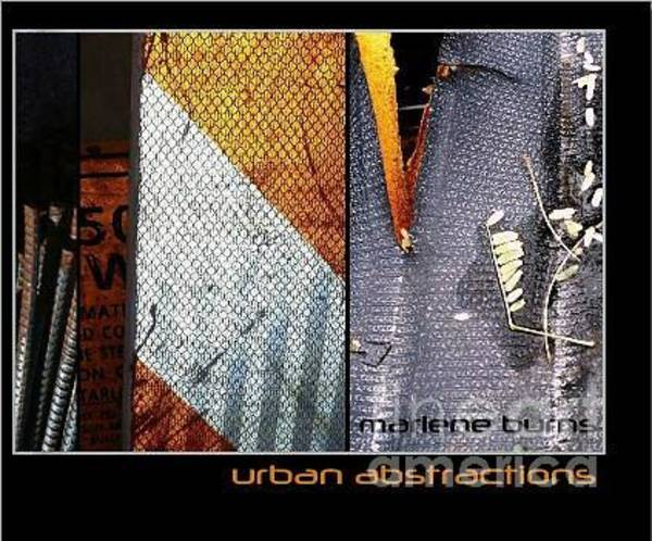 Photograph - New Book Urban Abstractions 2013 by Marlene Burns
