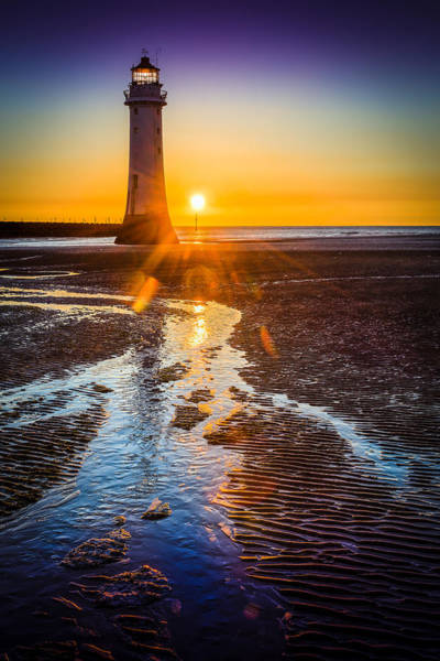 Wall Art - Photograph - New Brighton Lighthouse by Peter OReilly