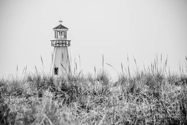 New Buffalo Lighthouse In Southwestern Michigan Art Print