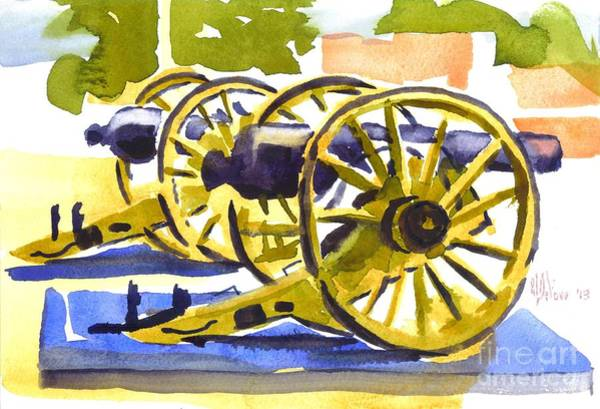 Painting - New Cannon by Kip DeVore
